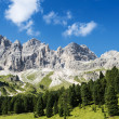 Dolomiti mountains panorama — Stock Photo