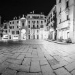 Stock Photo: Varese, piazzSVittore - Night view