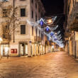 Stock Photo: Varese, Corso Matteotti night photography