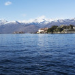 Maggiore lake, landscape from Stresa - Italy — Stock Photo #41369823