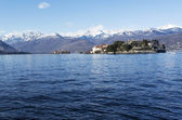 Maggiore lake, landscape from Stresa - Italy — Stock Photo