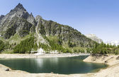 Devero Lake, spring season - Italy — Stock Photo