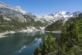 Devero Lake, spring season - Italy — Stok fotoğraf