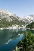 Devero Lake, spring season - Italy — Foto de Stock