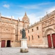 Famous University of Salamanca, Castilla y Leon region, Spain - Stock Photo
