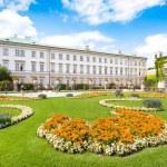 Schloss Mirabell with Mirabellgarten in Salzburg, Austria — Stock Photo #24223661