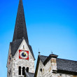 Traditional church in Hallstatt, Austria — Stock Photo #24223771
