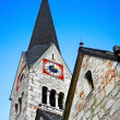 Stock Photo: Traditional church in Hallstatt, Austria