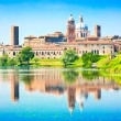 Medieval city of Mantua in Lombardy, Italy — Foto Stock