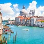 Canal Grande and Basilica di Santa Maria della Salute, Venice, Italy — Stock Photo #24224853