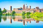 Città medievale di mantova in lombardia, italia — Foto Stock