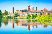 Medieval city of Mantua in Lombardy, Italy — Stock Photo