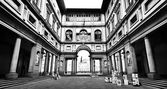 Uffizi Gallery in Florence, Italy — Stock Photo
