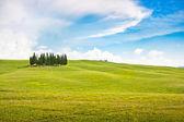 Schilderachtige landschap in toscane, italië — Stockfoto