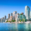 Vancouver downtown skyline at False Creek, British Columbia, Canada — Stock Photo #24276559