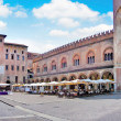 City center of the historic town of Mantua in Lombardy, Italy — Stock Photo