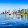 Vancouver skyline with harbor, British Columbia, Canada — Stock Photo #26383959