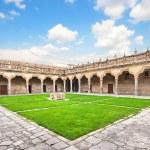 Courtyard of famous University of Salamanca, Castilla y Leon region, Spain — Stock Photo #26384635