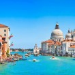 Canal Grande with Basilica di Santa Maria della Salute in Venice, Italy — Stock Photo #26384821