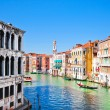 Scenic view of Canal Grande in Venice, Italy as seen from Rialto bridge — Stock Photo #26385845