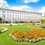 Famous Schloss Mirabell with Mirabellgarten in Salzburg, Austria — Stock Photo #26386215