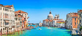 Canal Grande with Basilica di Santa Maria della Salute in Venice, Italy — Stock Photo