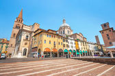 City center of the historic town of Mantua in Lombardy, Italy — Foto Stock