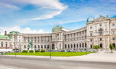 Famous Hofburg Palace with Heldenplatz in Vienna, Austria — Stock Photo