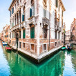 Romantic scene in Venice, Italy — Stock Photo
