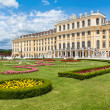 Famous Schonbrunn Palace with Great Parterre garden in Vienna, Austria — Stock Photo #38810249