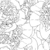 Seamless pattern di belle rose — Vettoriale Stock
