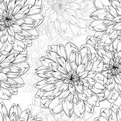 Patrón de flores — Vector de stock