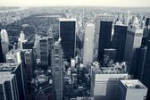 Skyscrapers of NYC. Central Park — Stock fotografie