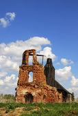 Pravoslavnaya old abandoned church — Stock Photo