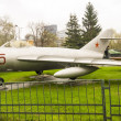 Vintage Russian Fighter airplane — Lizenzfreies Foto