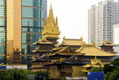 Jing An Temple — Stock Photo
