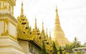 Shwedagon Pagoda Exterior — Foto Stock