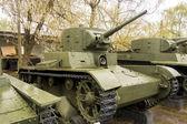Russian WW2 Tank — Stock Photo