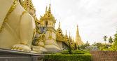 Shwedagon Pagoda Exterior — Stock Photo
