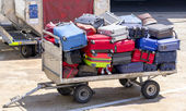 Luggage Cart — Stock Photo