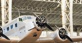 Vintage Airplane — Stock Photo