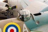 Vintage Airplane Machine Gun — ストック写真
