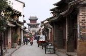 Street in the old town Weishan. — Stock Photo