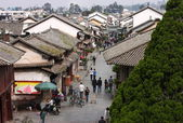 Street going out of the old town Weishan. — Stock Photo