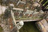 Köprü, wen uzun pavilion, wenchang gong-tapınak çalışmaları ve edebiyat. — Stok fotoğraf