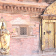 Stock Photo: Patan, Jamungoddess in Mul Chowk-Royal Palace.