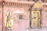 Patan, Jamuna goddess in Mul Chowk-Royal Palace. — Stock Photo