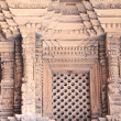 Patan-carved wood window-Mul Chowk of Royal Palace., — Stock Photo #19031773