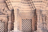Patan-carved wood window-Mul Chowk of the Royal Palace., — Stock Photo
