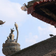 Stock Photo: King YoganarendrMalla's column-Patan-Nepal.
